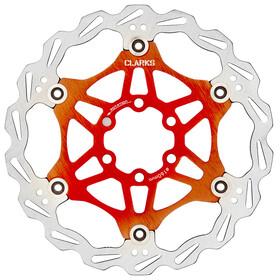 Clarks Lightweight Disc-Rotor Bromsskiva 6-hål orange